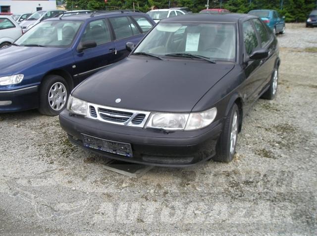 Auta Pelouch U tří křížů - Saab 9-3 2.2 DTI