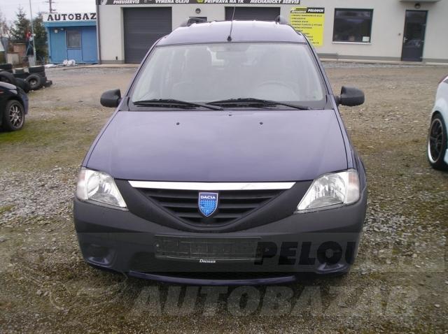 Auta Pelouch U tří křížů - Dacia Logan 1.4 MPI