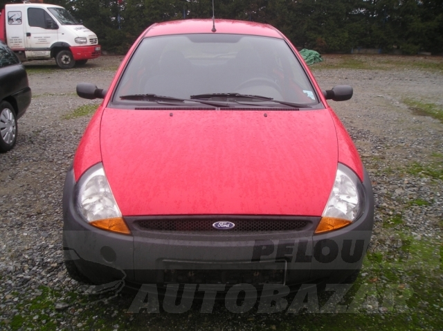 Auta Pelouch U tří křížů - Ford Ka 1.3
