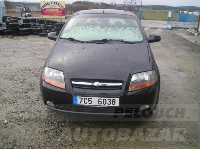 Auta Pelouch U tří křížů - Chevrolet Kalos  1.4 16V
