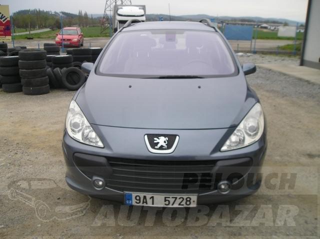 Auta Pelouch U tří křížů - Peugeot 307  1.6 HDI