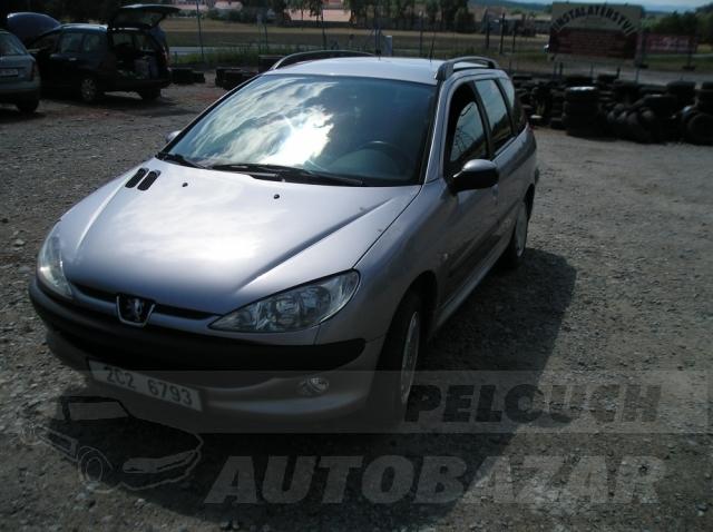 Auta Pelouch U tří křížů - PEUGEOT 206 1.4 HDI