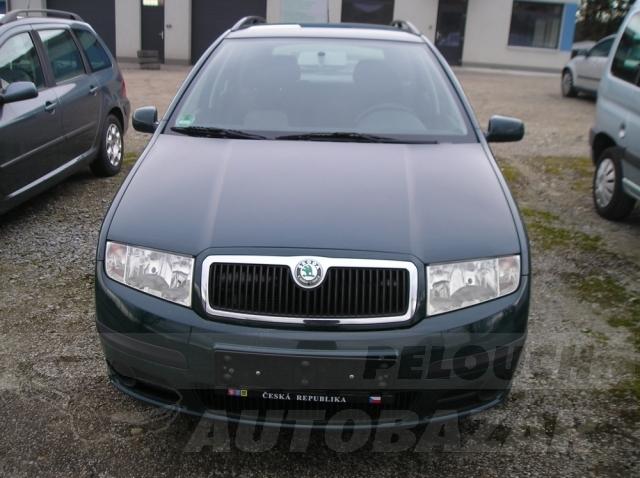 Auta Pelouch U tří křížů - Škoda Fabia combi 1.4 16v