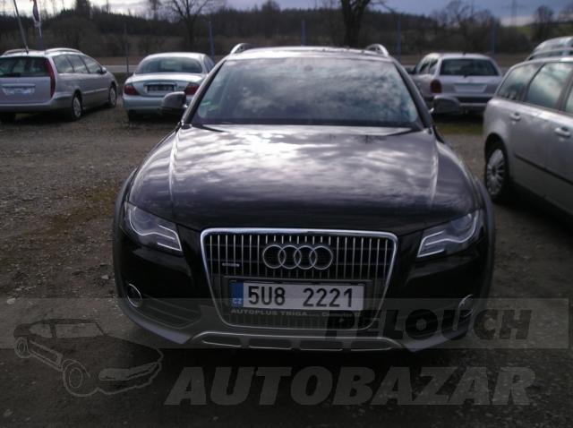 Auta Pelouch U tří křížů - Audi A4 Allroad QuaTtro 2.0 TDI