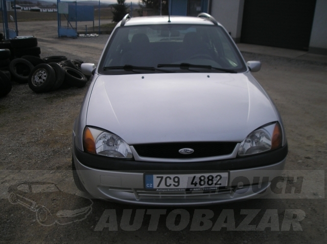 Auta Pelouch U tří křížů - Ford Fiesta 1.8 D