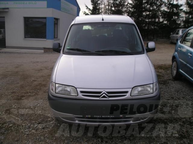 Auta Pelouch U tří křížů - Citroen Berlingo 1.6